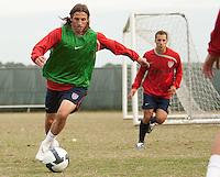 Frankie Hejduk. U.S. Men's National Team training at RFK Stadium  Monday October 12, 2009  in Washington, D.C.