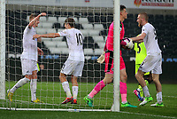 Pictured: Monday 15 May 2017<br />Re: Premier League Cup Final, Swansea City FC U23 v Reading U23 at the Liberty Stadium, Wales, UK