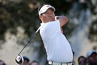 December 4, 2011: K.J. Choi during the final round of the Chevron World Challenge held at Sherwood Country Club, Thousand Oaks, CA.