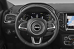 Car pictures of steering wheel view of a 2021 JEEP Compass S 5 Door SUV Steering Wheel