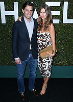 BEVERLY HILLS, CA, USA - OCTOBER 02: James Frank, Claiborne Swanson Frank arrive at Michael Kors Launch Of Claiborne Swanson Franks's 'Young Hollywood' Book held at a Private Residence on October 2, 2014 in Beverly Hills, California, United States. (Photo by Xavier Collin/Celebrity Monitor)