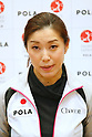 Rhythmic gymnastics special athlete Sumire Kita open the practice for press