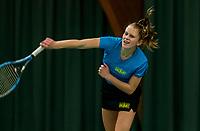 Wateringen, The Netherlands, November 27 2019, De Rhijenhof , NOJK 12 and16 years, Sophie Schouten (NED)<br /> Photo: www.tennisimages.com/Henk Koster
