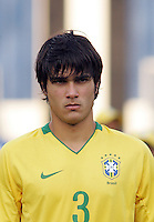 Brazil's Dalton (3) stands on the field before the match against Germany during the FIFA Under 20 World Cup Quarter-final match at the Cairo International Stadium in Cairo, Egypt, on October 10, 2009. Germany lost 2-1 in overtime play.