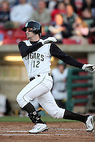 April 16, 2009: Grant Desme (12) of the Kane County Cougars at Elfstrom Stadium in Geneva, IL.  Photo by:  Chris Proctor/Four Seam Images