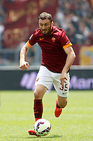 Calcio, Serie A: Roma vs Genoa. Roma, stadio Olimpico, 3 maggio 2015.<br /> Roma's Vasileios Torosidis in action during the Italian Serie A football match between Roma and Genoa at Rome's Olympic stadium, 3 May 2015.<br /> UPDATE IMAGES PRESS/Isabella Bonotto