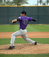 Nate Griep - Colorado Rockies 2020 spring training (Bill Mitchell)