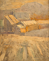 ActiveMuseum_0000083.jpg / Sun of Winter in Gradascica - Rihard Jakopic (around 1900) - <br />06/06/2013  -   / 20th century<br />Active Museum / Le Pictorium