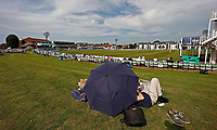General view of the St Lawrence Ground during Kent CCC vs Worcestershire CCC, LV Insurance County Championship Division 3 Cricket at The Spitfire Ground on 6th September 2021