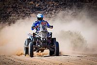 6th January 2021; Wadi Al Dawasir to Riyadh, Saudia Arabia; Dakar 2021 Rally, stage 4;  154 Andujar Manuel (arg), Yamaha, 7240 Team, Quad, action during the 4th stage of the Dakar 2021 between Wadi Al Dawasir and Riyadh, in Saudi Arabia on January 6, 2021