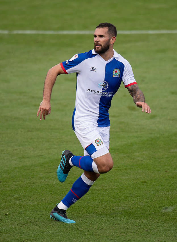 Blackburn Rovers' Bradley Johnson scored his side's first goal  <br /> <br /> Photographer David Horton/CameraSport <br /> <br /> The EFL Sky Bet Championship - Bournemouth v Blackburn Rovers - Saturday September 12th 2020 - Vitality Stadium - Bournemouth<br /> <br /> World Copyright © 2020 CameraSport. All rights reserved. 43 Linden Ave. Countesthorpe. Leicester. England. LE8 5PG - Tel: +44 (0) 116 277 4147 - admin@camerasport.com - www.camerasport.com