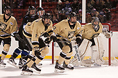 Nick DeCenzo (Army - 6), Max French (Bentley - 16), Matt Riggleman (Bentley - 23), Dominic Franco (Army - 11), Blake Box (Army - 12), Parker Gahagen (Army - 35) - The Bentley University Falcons defeated the Army West Point Black Knights 3-1 (EN) on Thursday, January 5, 2017, at Fenway Park in Boston, Massachusetts.The Bentley University Falcons defeated the Army West Point Black Knights 3-1 (EN) on Thursday, January 5, 2017, at Fenway Park in Boston, Massachusetts.
