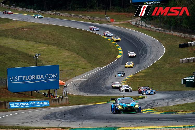 IMSA WeatherTech SportsCar Championship<br /> Motul Petit Le Mans<br /> Road Atlanta, Braselton GA<br /> Saturday 7 October 2017<br /> 15, Lexus, Lexus RCF GT3, GTD, Jack Hawksworth, Scott Pruett, Austin Cindric<br /> World Copyright: Michael L. Levitt<br /> LAT Images