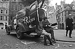 Silent Power demonstrators.  Anti Vietnam War demonstration in  Grosvenor Square outside the American Embassy London 1968