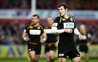 Photo: Richard Lane/Richard Lane Photography. Gloucester Rugby v London Wasps. Aviva Premiership. 26/12/2011. Wasps' Elliot Daly.