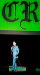 """Comedian Chris Rock performs during his """"No Apologies Tour"""" at the Paramount Theater in Seattle on April 10, 2008. The master comic is performing 30 tour dates that span North America, Europe and South Africa. (UPI Photo/Jim Bryant)."""