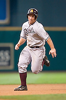 Arizona State's Brett Wallace (23) hustles into third base during first inning action versus Vanderbilt at the 2007 Houston College Classic at Minute Maid Park in Houston, TX, Saturday, February 10, 2007.  The Commodores defeated the Sun Devils 7-6 in 10 innings.