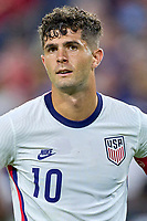 5th September 2021; Nashville, TN, USA;  United States forward Christian Pulisic (10) during a CONCACAF World Cup qualifying match between the United States and Canada on September 5, 2021 at Nissan Stadium in Nashville, TN.