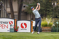 11th September 2020, Napa, California, USA;  Vincent Whaley of the United States tees off during the second round of the Safeway Open PGA tournament on September 11, 2020 at Silverado Country Club in Napa, CA.