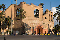 Tripoli, Libya - National Museum Entrance, Serraya al-Hamra, Turkish Fort, Red Fort.