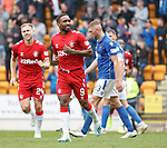 22.09.2019 St Johnstone v Rangers: Jermain Defoe celebrates his second goal