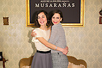 "Nadia Santiago and Macarena Gomez attend the presentation of the movie ""Musaranas"" in Madrid, Spain. December 17, 2014. (ALTERPHOTOS/Carlos Dafonte)"