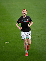 Lincoln City's Callum Morton during the pre-match warm-up<br /> <br /> Photographer Chris Vaughan/CameraSport<br /> <br /> Carabao Cup Second Round Northern Section - Bradford City v Lincoln City - Tuesday 15th September 2020 - Valley Parade - Bradford<br />  <br /> World Copyright © 2020 CameraSport. All rights reserved. 43 Linden Ave. Countesthorpe. Leicester. England. LE8 5PG - Tel: +44 (0) 116 277 4147 - admin@camerasport.com - www.camerasport.com