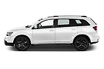 Car Driver side profile view of a 2020 Dodge Journey Crossroad 5 Door SUV Side View