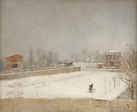 Full title: Winter Landscape<br /> Artist: Giuseppe De Nittis<br /> Date made: about 1880