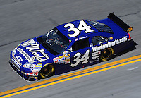 Feb 07, 2009; Daytona Beach, FL, USA; NASCAR Sprint Cup Series driver John Andretti during practice for the Daytona 500 at Daytona International Speedway. Mandatory Credit: Mark J. Rebilas-