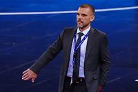 9th October 2020; Palau Blaugrana, Barcelona, Catalonia, Spain; UEFA Futsal Champions League Finals; Mrucia FS versus MFK Tyumen; Nikolai Ivanov head coach of MFK Tyumen