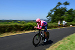 EF Education First in action during Stage 13 of the 2019 Tour de France an individual time trial running 27.2km from Pau to Pau, France. 19th July 2019.<br /> Picture: ASO/Pauline Ballet | Cyclefile<br /> All photos usage must carry mandatory copyright credit (© Cyclefile | ASO/Pauline Ballet)