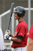 March 16th 2008:  Ebert Rosario of the Houston Astros minor league system during Spring Training at Osceola County Complex in Kissimmee, FL.  Photo by:  Mike Janes/Four Seam Images