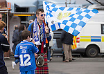 St Johnstone v Dundee United....17.05.14   William Hill Scottish Cup Final<br /> Fans arrive at Celtic Park<br /> Picture by Graeme Hart.<br /> Copyright Perthshire Picture Agency<br /> Tel: 01738 623350  Mobile: 07990 594431
