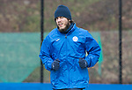St Johnstone Training….31.03.17<br />Murray Davidson pictured training on the astroturf at McDiarmid Park this morning ahead of tomorrow's game at Hamilton.<br />Picture by Graeme Hart.<br />Copyright Perthshire Picture Agency<br />Tel: 01738 623350  Mobile: 07990 594431