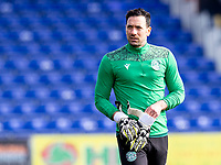 13th March 2021; Global Energy Stadium, Dingwall, Highland, Scotland; Scottish Premiership Football, Ross County versus Hibernian; Ofir Marciano of Hibernian keeps the gloves despite rejecting a new contract with Hibernian