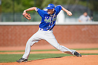 Chris Sale #41 of the Florida Gulf Coast Eagles in action against the Campbell Fighting Camels at Taylor Field April 9, 2010, in Lillington, North Carolina.  Photo by Brian Westerholt / Four Seam Images