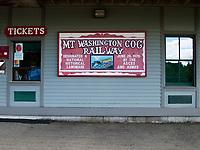 USA, Neuengland, Mount Washinton Cog Railway, 04.09.2010<br /> <br /> Engl.: USA, New England, Mount Washington Cog Railway, 04 September 2010