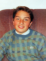 Pictured: Undated collect of Lee McCarley when he was 14 years old, the son of Billy and Kath McCarley who tragically died while delivering newspapers when he was 15  <br /> Re: Billy McCarley who has recovered from  leukemia but he has also been locked in a bitter dispute with his phone provider True Telecom which keeps chasing him for money they say he owes.