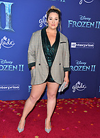 """LOS ANGELES, USA. November 08, 2019: Emma Hunton at the world premiere for Disney's """"Frozen 2"""" at the Dolby Theatre.<br /> Picture: Paul Smith/Featureflash"""