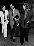 ALBERTO SORDI CON EVA KRANTZ E MARINA CICOGNA<br /> ROMA 1972