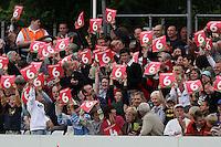 Essex fans celebrate 6 runs - Essex Eagles vs Surrey Brown Caps - Twenty 20 Cup at Ford County Ground, Chelmsford, Essex - 20/06/08 - MANDATORY CREDIT: Gavin Ellis/TGSPHOTO - Self billing applies where appropriate - Tel: 0845 094 6026