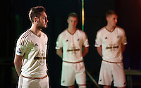 Pictured L-R: Matt Grimes, Adam King and Jay Fulton 01 April 2015<br />