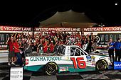 #16: Austin Hill, Hattori Racing Enterprises, Toyota Tundra Gunma Toyopet wins