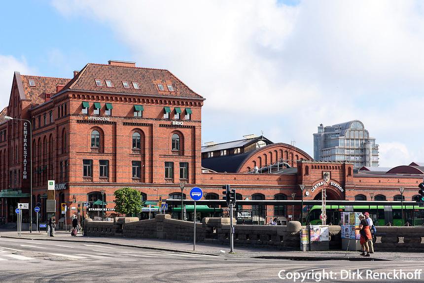 Hauptbahnhof von Malmö, Provinz Skåne (Schonen), Schweden, Europa<br /> Main station  in Malmo, Sweden