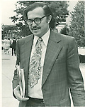 Dr. Michael Baden, the New York doctor who testified that Mrs. Avcollie drown during the Bernard Avcollie murder trial. 07 July 1977