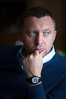 Moscow, Russia, 16/01/2011.<br /> Oleg Deripaska, owner of RUSAL Ltd, the world's largest aluminium company, at home outside Moscow.