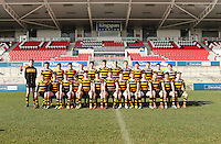MEDALLION SHILED FINAL | Monday 10th March 2015<br /> <br /> The RBAI team us Wallace HS during the 2015 Ulster Schools Medallion Shield Final at the Kingspan Stadium, Ravenhill Park, Belfast.<br /> <br /> Picture credit: John Dickson / DICKSONDIGITAL