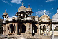 Chhatri von Gaitor, Grabstätte der königl. Familie, Jaipur (Rajasthan), Indien