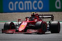 #55 Carlos Sainz Jr Scuderia Ferrari. Formula 1 World championship 2021, Austrian GP July 3rd 2021<br /> Photo Federico Basile / Insidefoto